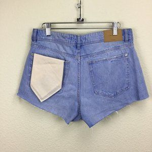 Zara Trafaluc Denim Makers Shorts Size 8
